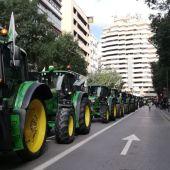 Tractorada en Murcia