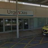 Entrada de Urgencias del Hospital San Pedro de Logroño