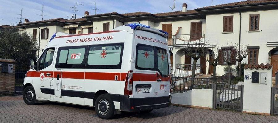 Imagen de una ambulancia en Italia