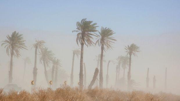 La calima y los fuertes vientos mantienen en alerta a Canarias