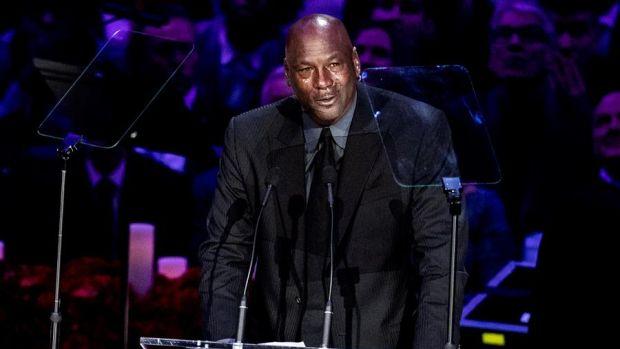 Michael Jordan, leyenda del baloncesto.