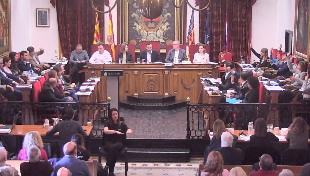 Pleno municipal de Elche del mes de febrero.