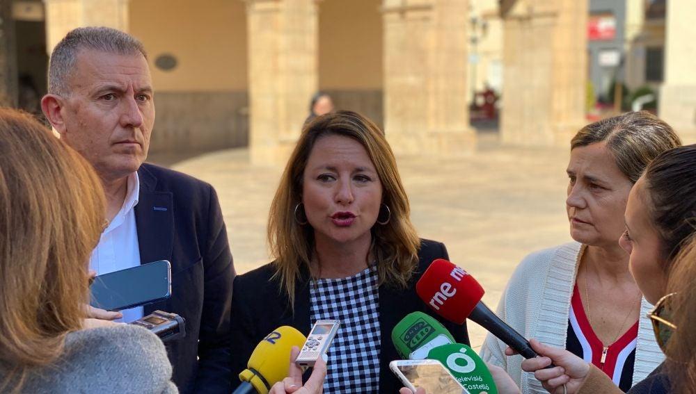 La portavoz del PP en el Ayuntamiento de Castellón, Begoña Carrasco.
