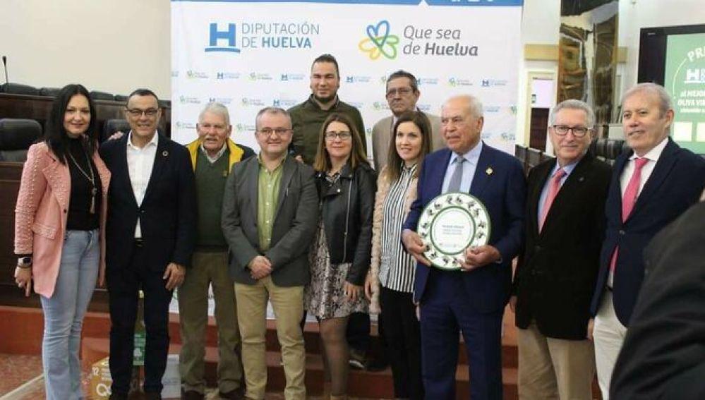 Entrega de premios de la Diputación de Huelva