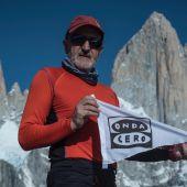 Sebas Álvaro, en La Patagonia.