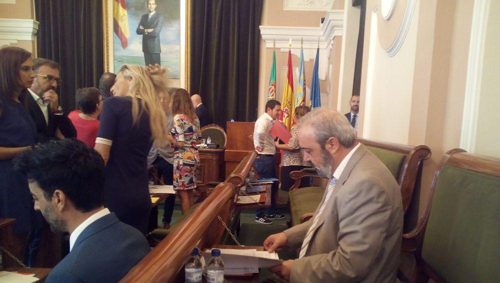 Luciano Ferrer, concejal de VOX por el Ayuntamiento de Castellón.