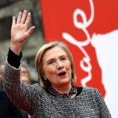 La exSecretaria de Estado norteamericana, Hillary Clinton, posa en la alfombra roja de la Berlinale