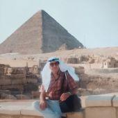 Luis Martín en Egipto