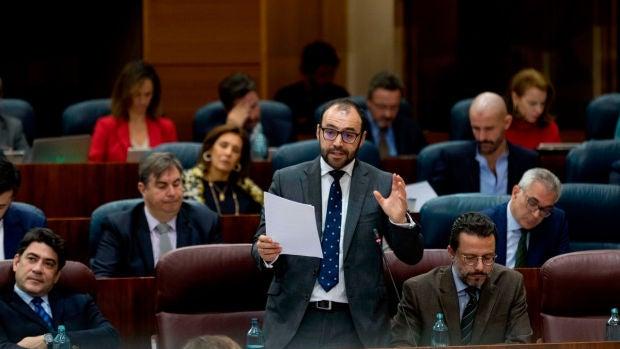 """Manuel Giménez: """"Pedimos al Gobierno que no nos impida acudir al rescate de los autónomos y empresas"""""""