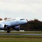 Un avión de Brussels Airlines