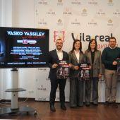 L´alcalde  Benlloch ha presentat l´espectacle de Vasko Vassilev en Vila-real.