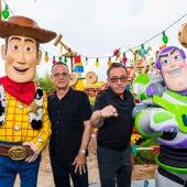 Tom Hanks y Tim Allen, las voces de 'Toy Story 4'