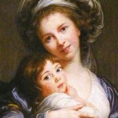 Elisabeth Viguée Lebrun 'Autoretrato con su hija'