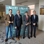 El presidente de la Diputación Provincial de Castellón visita el Instituto de Tecnología Cerámica