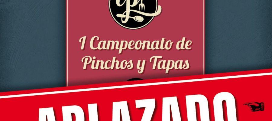 Aplazado el I Campeonato de Pinchos y Tapas para Cocineros de Castilla y León