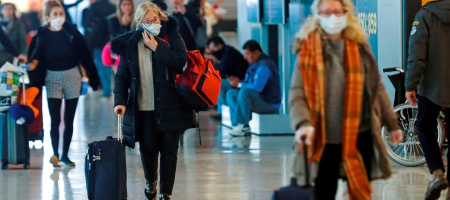 Coronavirus en el aeropuerto