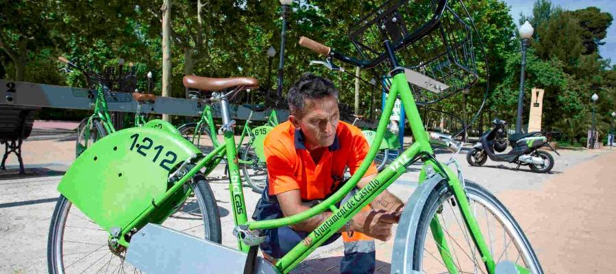 Bicicas suspende su servicio por el coronavirus.