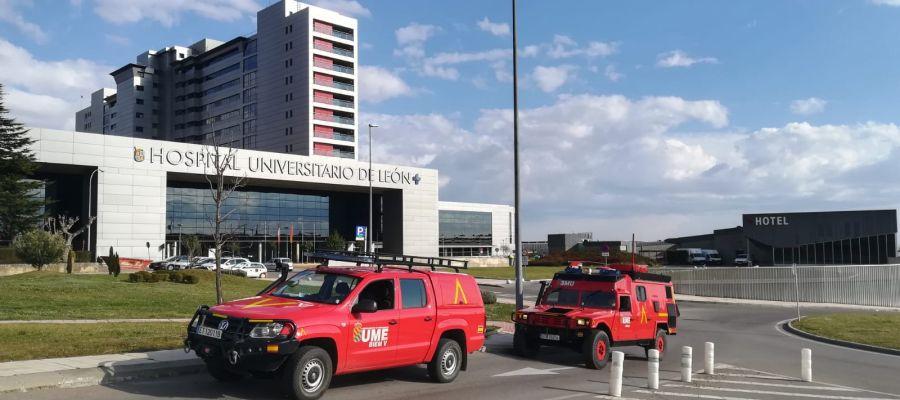 Hospital Universitario de León.