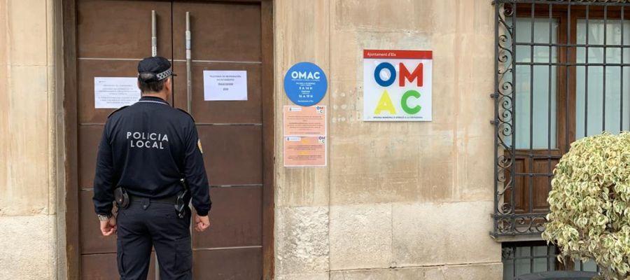 El horario de atención telefónica de la OMAC Elche, en el centro de la ciudad, será de 8:00 a 14:30 horas.