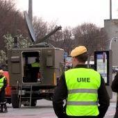 Efectivos de la Unidad Militar de Emergencia (UME)