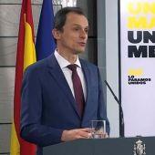 Pedro Duque, ministro de Ciencia e Innovación