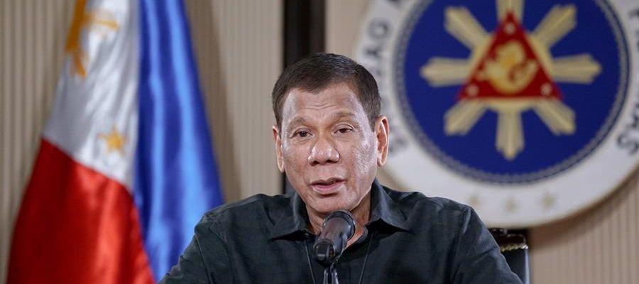 Imagen de archivo del presidente de Filipinas, Rodrigo Duterte