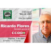 Ricardo Flores en Onda Cero