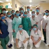 Equipo médico Hospital Virgen de las Nieves de Granada