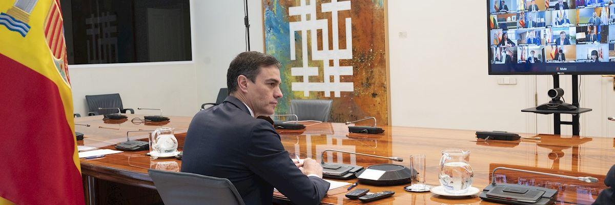 Sánchez pide a las comunidades un listado de infraestructuras para aislar a los asintomáticos con coronavirus