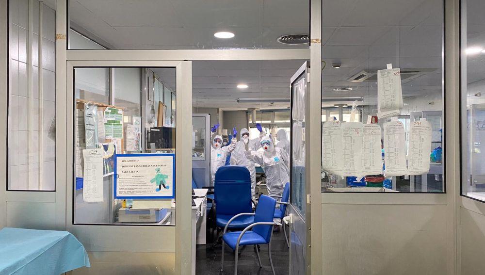 Extubaciones Hospital Regional Málaga