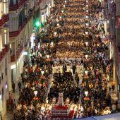 Cautivo en el Lunes Santo de la Semana Santa de Málaga