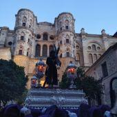 Pasión, Lunes Santo en la Semana Santa de Málaga