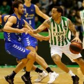 Erick Green, jugador del Coosur Betis, en un partido ante San Pablo Burgos.