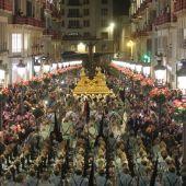Cofradía Mena con la Legión Jueves Santo Semana Santa Málaga