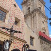 Cofradía Fusionadas, Crucificado de Veracruz Jueves Santo Semana Santa Málaga