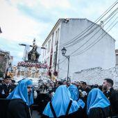 Cofradía del Santo Traslado y de la Soledad de San Pablo en el Viernes Santo de la Semana Santa de Málaga