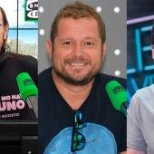 Santiago Segura, El Monaguillo y Álex Clavero