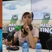 JJ Vaquero y Sara Escudero
