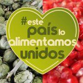 Campaña de la granada Mollar de Elche y la marca Alcachofa Vega Baja.