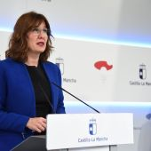 Blanca Fernández, portavoz de la Junta