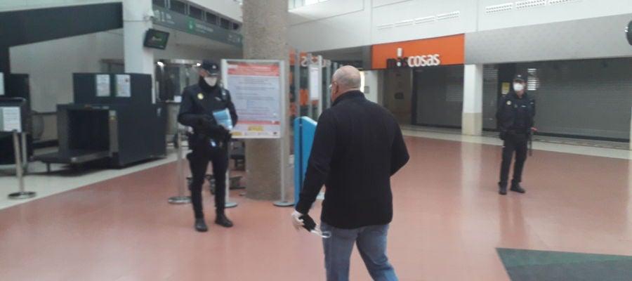 Se han repartido mascarillas en la estación del AVE de Ciudad Real