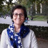 La ilicitana María Ángeles Sánchez, periodista, fotógrafa y escritora.
