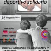 Cartel del Telemaratón Deportivo Solidario