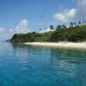 Imagen de archivo de una isla en Filipinas