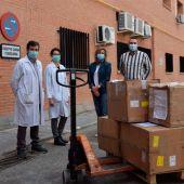 Respiradores para el Hospital Príncipe de Asturias