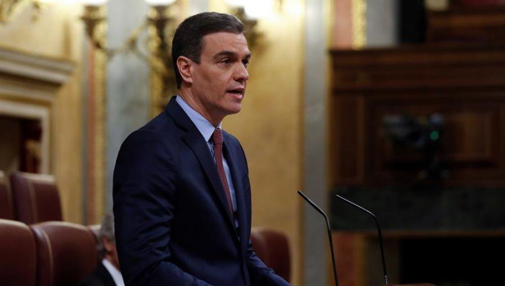 """Al rojo vivo (06-05-20) Sánchez defiende en el Congreso la prórroga del estado de alarma: """"La enfermedad está siendo controlada"""""""