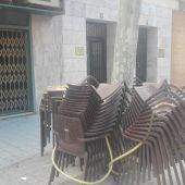 Los hosteleros están a la espera de poder instalar las terrazas de verano