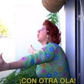 Los Morancos presentan su vídeo 'Segunda ola'.