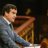 Ricardo Chamorro interviniendo en el Congreso de los Diputados