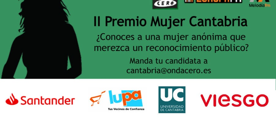 Comienza una nueva edición del Premio Mujer Cantabria